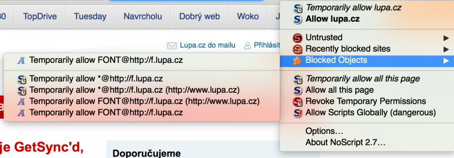 image of Jaké pluginy používám ve Firefoxu nejen pro větší bezpečnost?