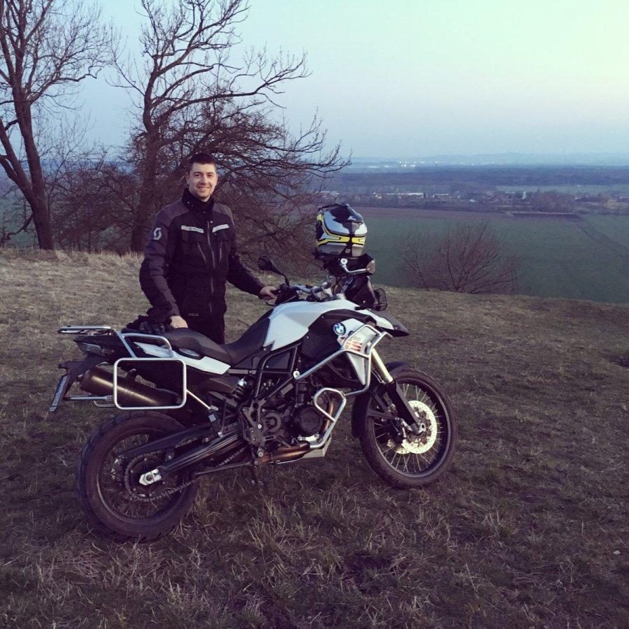 Koupil jsem si motorku BMW F800GS
