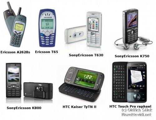 image of Moje mobilní historie
