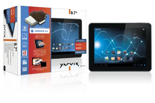 image of Android Tablet s ICS YARVIK GoTab Exxa