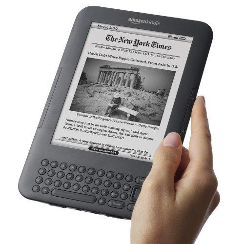image of Amazon Kindle 3 je doma