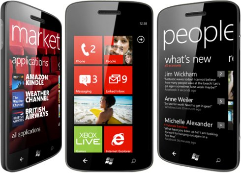 image of Windows Phone 7.5 první pohled