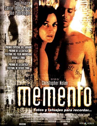image of Memento - naprosto originální film *****