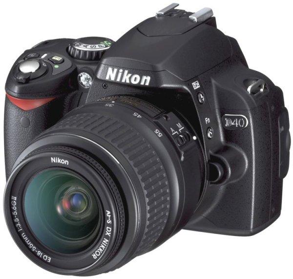 image of RIP Nikon D40