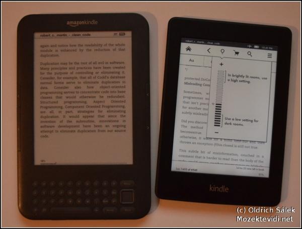 image of První pohled na Kindle PaperWhite