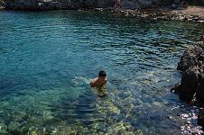 já poprvé v moři