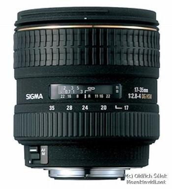 image of Nový objektiv Sigma 17-35mm F2.8-4