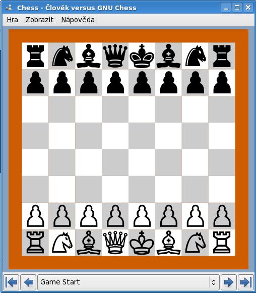 šachy na linuxu