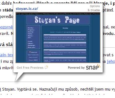 image of Snap Preview - pěkná vychytávka